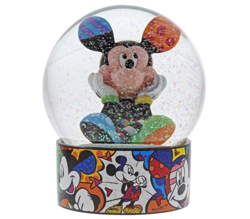 Disney by Britto - Mickey Mouse sneeuwbol