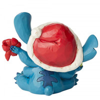 Disney Traditions - Bad Wrap (Stitch with Santa Hat)