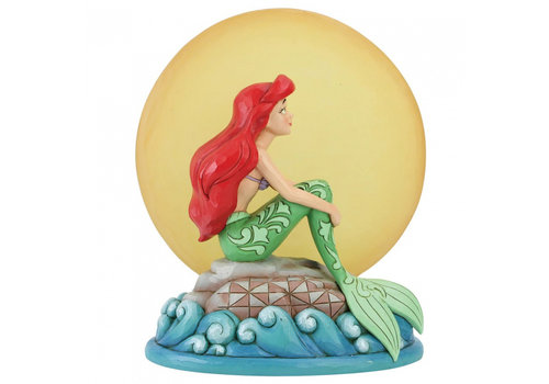 Disney Traditions Mermaid by Moonlight (Ariel with Light up Moon) - Disney Traditions