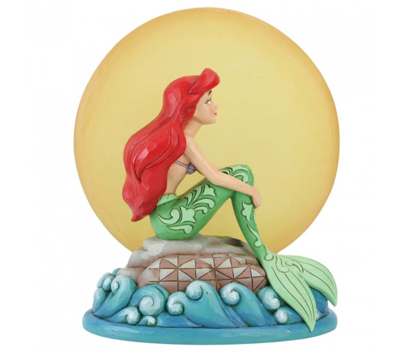 Disney Traditions - Mermaid by Moonlight (Ariel with Light up Moon)