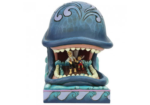 Disney Traditions A Whale of a Whale (Monstro with Geppetto and Pinocchio) - Disney Traditions