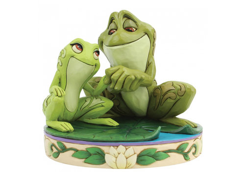 Disney Traditions Amorous Amphibians (Tiana and Naveen as Frogs) - Disney Traditions