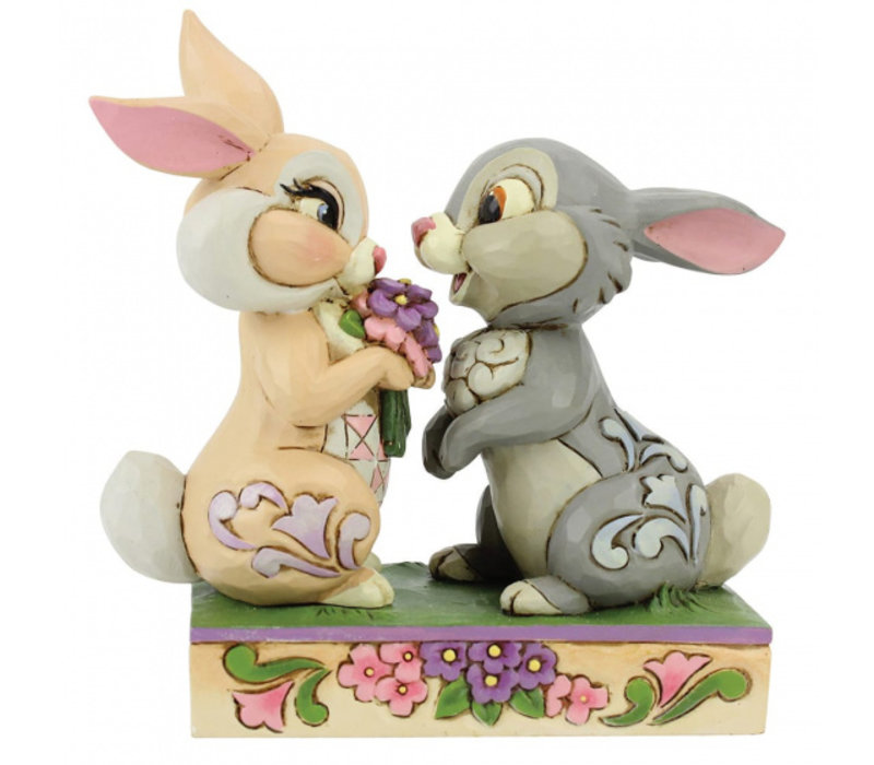 Disney Traditions - Bunny Bouquet (Thumper and Blossom)