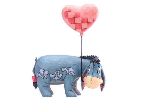 Disney Traditions Eeyore with a Heart Balloon - Disney Traditions