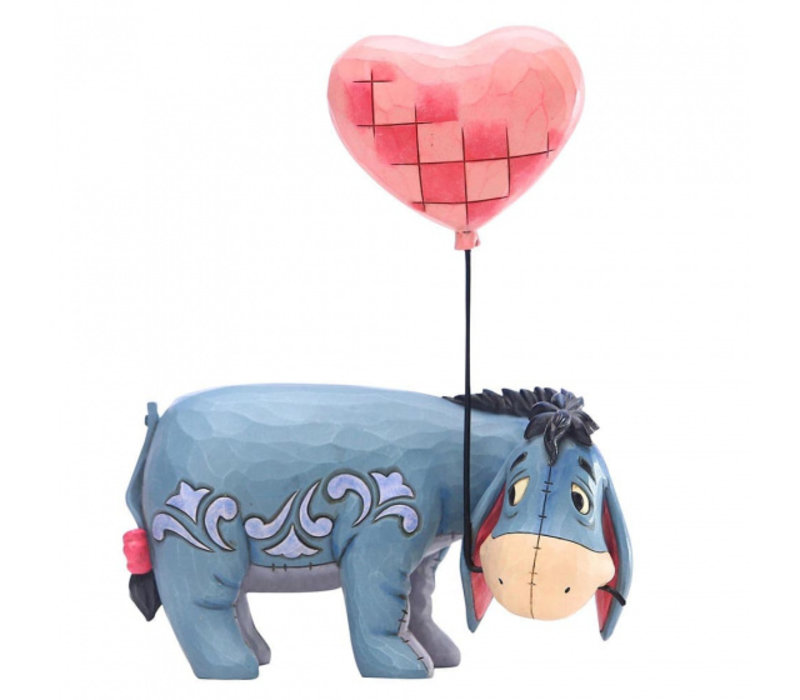 Disney Traditions - Eeyore with a Heart Balloon