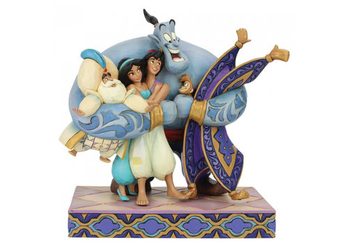 Disney Traditions Group Hug! (Aladdin) - Disney Traditions