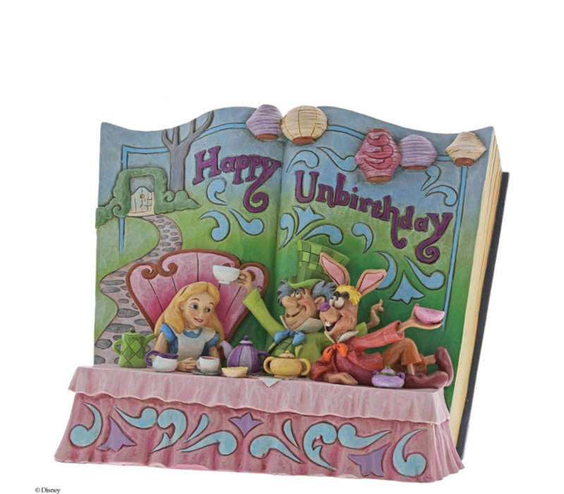 Disney Traditions - Happy Unbirthday (Storybook Alice in Wonderland)