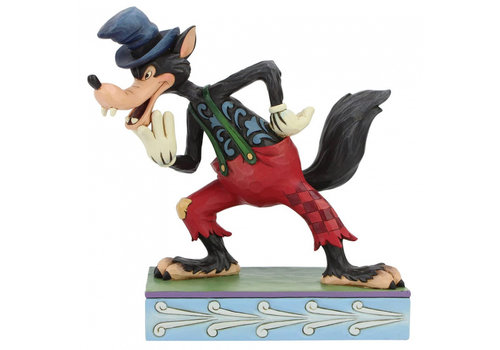 Disney Traditions I'll Huff and I'll Puff! (Silly Symphony Big Bad Wolf) - Disney Traditions