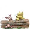 Disney Traditions Disney Traditions - Pooh and Piglet on a Log