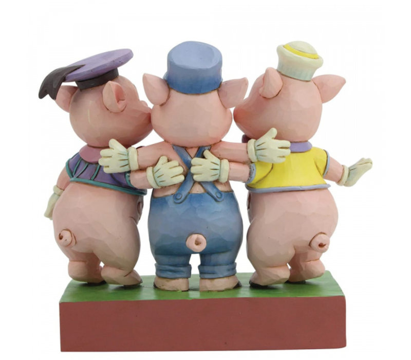 Disney Traditions - Squealing Siblings (Silly Symphony Three Little Pigs)