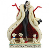Disney Traditions Disney Traditions - The Cute and the Cruel (Cruella and Puppies)