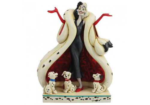 Disney Traditions The Cute and the Cruel (Cruella and Puppies) - Disney Traditions