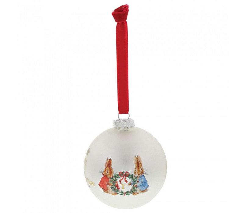 Beatrix Potter - Peter Rabbit My First Christmas Bauble