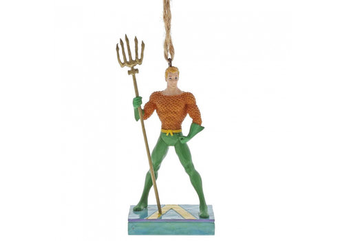 DC Comics by Jim Shore Aquaman Silver Age Hanging Ornament