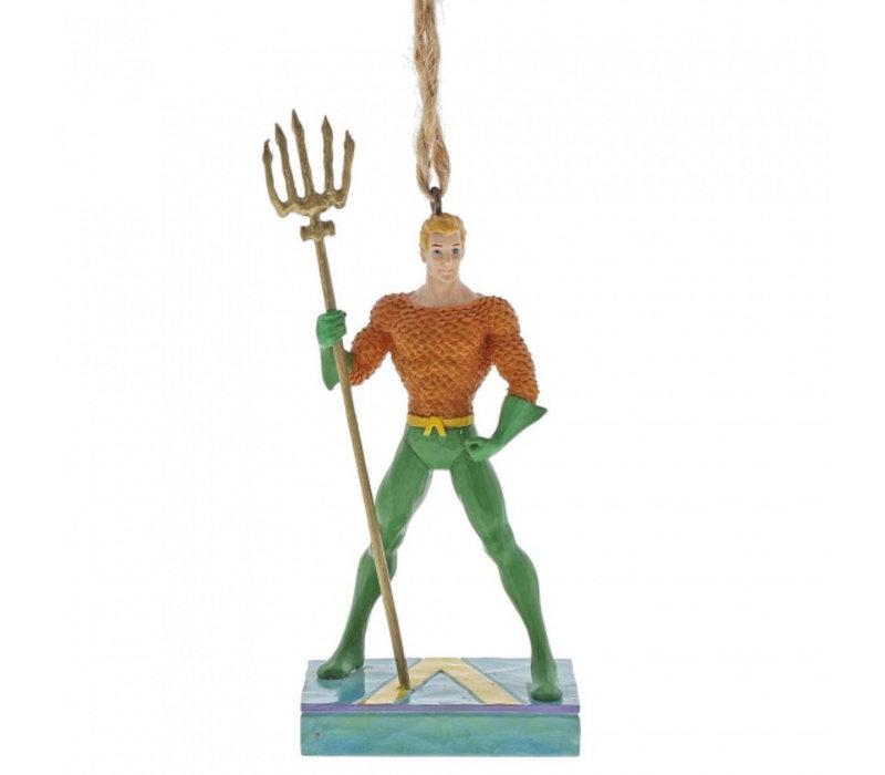 DC Comics by Jim Shore - Aquaman Silver Age Hanging Ornament
