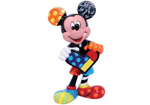 Disney by Britto Mickey Mouse with Heart Mini - Disney by Britto