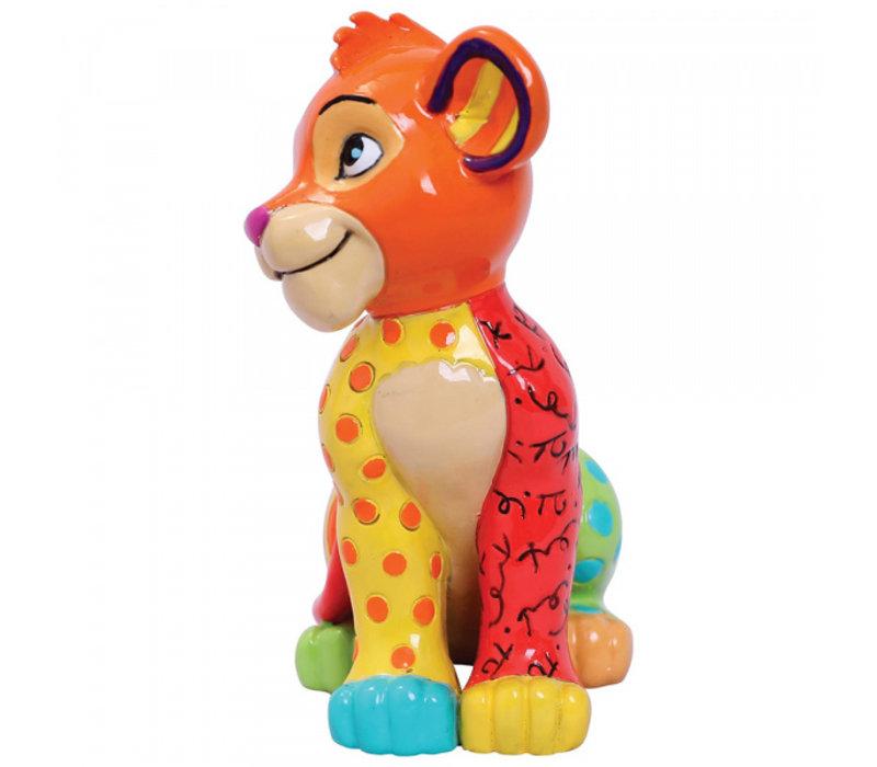 Disney by Britto - Simba Sitting Mini