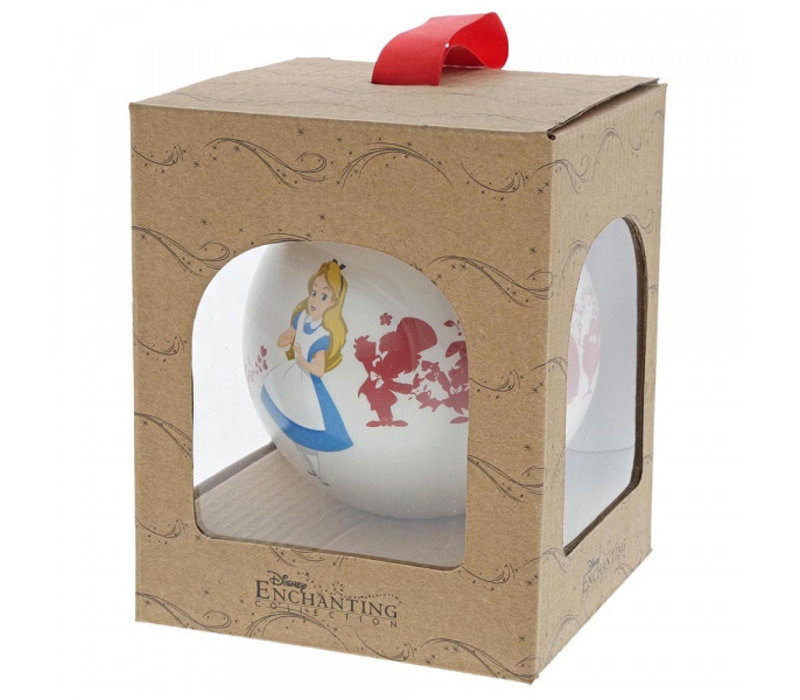 Enchanting Disney Collection - We're All Mad Here (Alice in Wonderland Bauble)