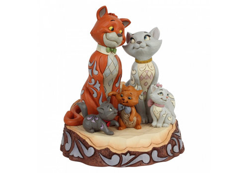 Disney Traditions Aristocats Carved by Heart - Disney Traditions