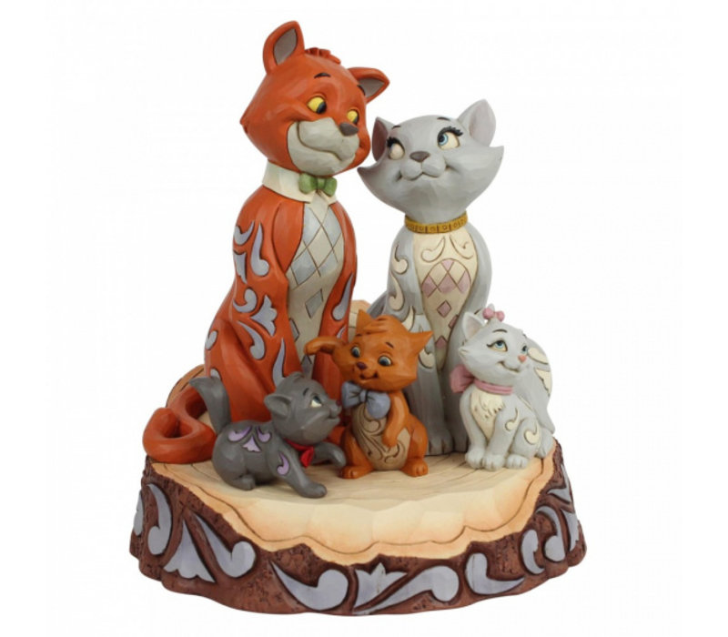 Disney Traditions - Aristocats Carved by Heart