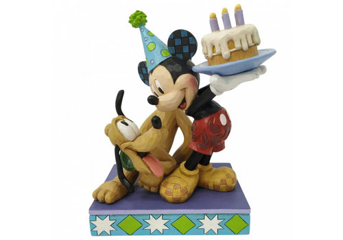 Disney Traditions Pluto and Mickey Mouse