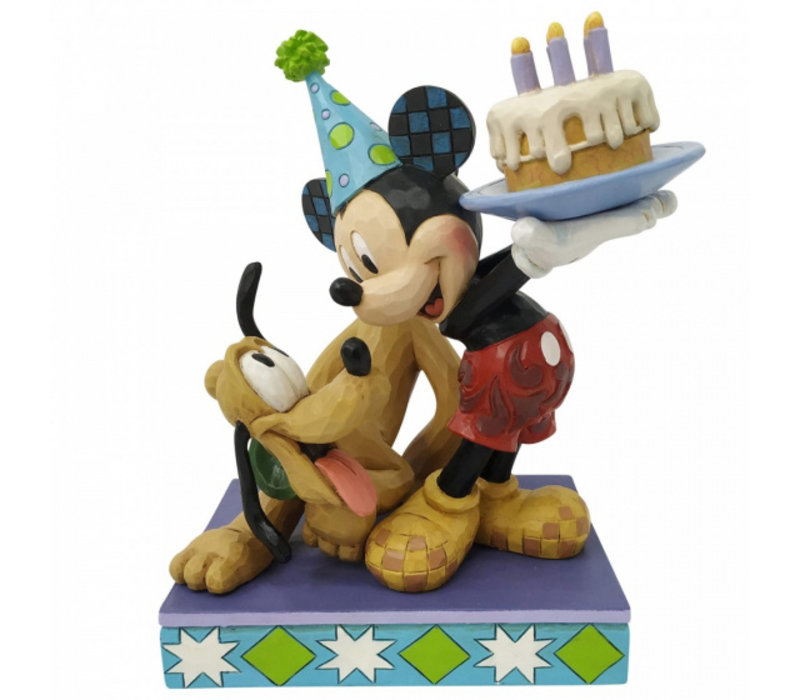 Disney Traditions - Pluto and Mickey Mouse