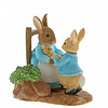 Beatrix Potter Beatrix Potter - At Home by the Fire with Mummy Rabbit