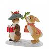Beatrix Potter Beatrix Potter - Flopsy and Benjamin Bunny Under the Misteltoe