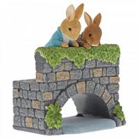 Beatrix Potter - Peter & Benjamin Bunny on the Bridge