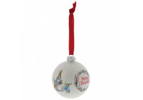 Beatrix Potter Peter Rabbit Christmas Bauble