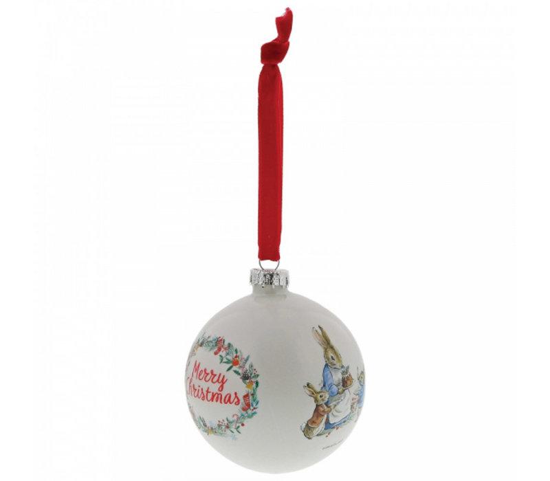 Beatrix Potter - Peter Rabbit Christmas Bauble
