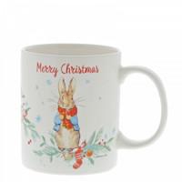 Beatrix Potter - Peter Rabbit Christmas Mug
