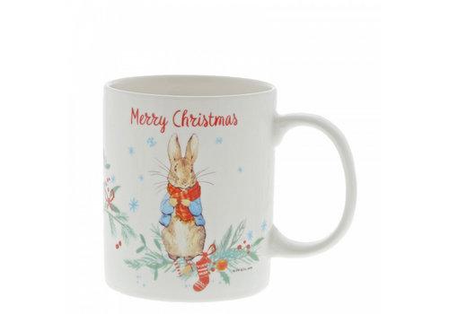 Beatrix Potter Peter Rabbit Christmas Mug