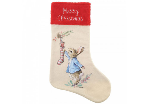 Beatrix Potter Peter Rabbit Christmas Stocking