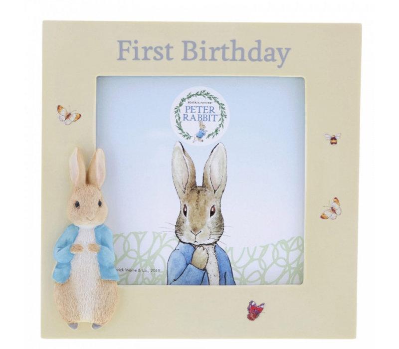 Beatrix Potter - Peter Rabbit First Birthday Photo Frame