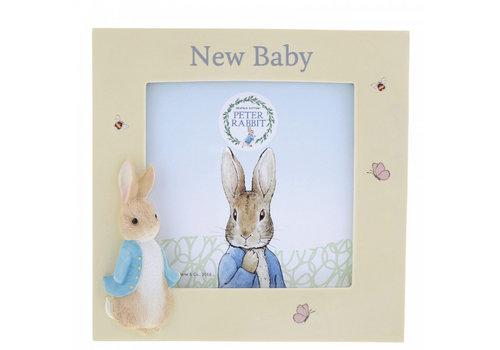 Beatrix Potter Peter Rabbit New Baby Photo Frame - Beatrix Potter