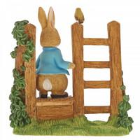 Beatrix Potter - Peter Rabbit on Wooden Stile