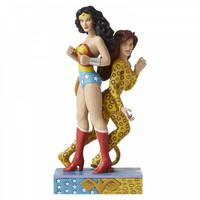 DC Comics by Jim Shore - Wonder Woman and Cheetah
