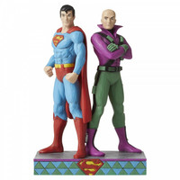 DC Comics by Jim Shore - Superman and Lex Luthor