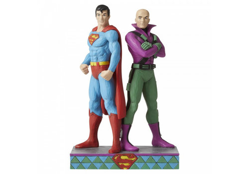 DC Comics by Jim Shore Superman and Lex Luthor - DC Comics by Jim Shore