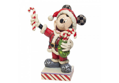 Disney Traditions Mickey Mouse with Candy Canes - Disney Traditions