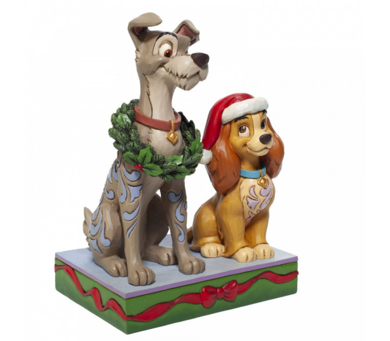 Disney Traditions - Decked out Dogs (Lady and the Tramp)