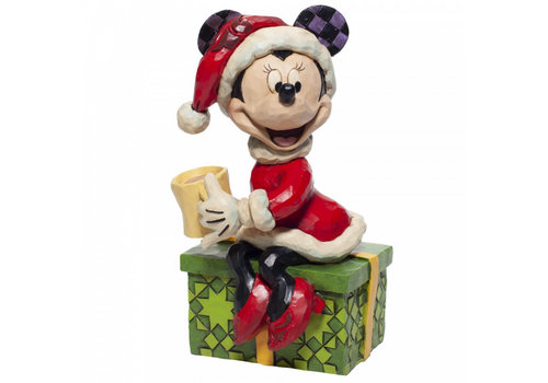 Disney Traditions Minnie Mouse with Hot Chocolate - Disney Traditions