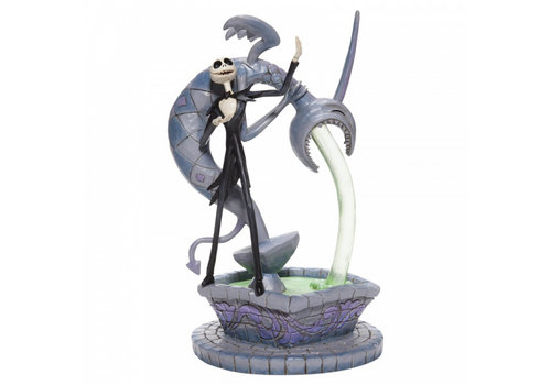 Disney Traditions Soulful Soliloquy (Jack Skellington on Fountain) - Disney Traditions