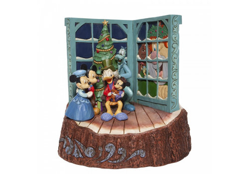 Disney Traditions Carved by Heart Mickey Mouse Christmas Carol - Disney Traditions