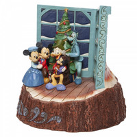 Carved by Heart Mickey Mouse Christmas Carol - Disney Traditions