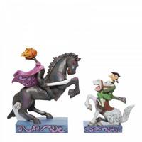 Disney Traditions - Headless Horseman and Ichabod Crane
