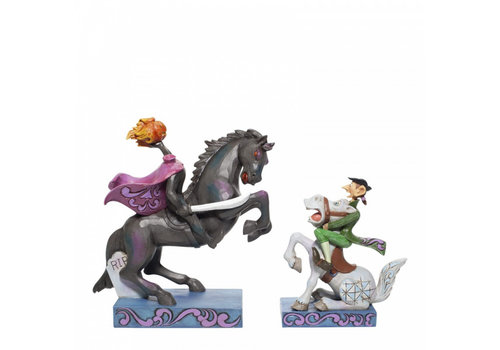 Disney Traditions Headless Horseman and Ichabod Crane - Disney Traditions