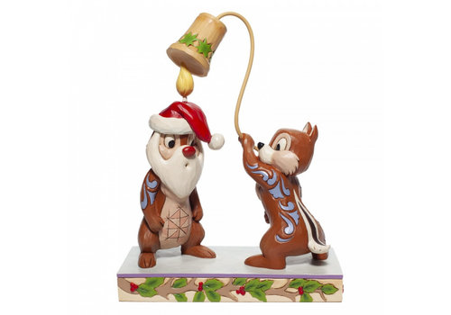 Disney Traditions Snuff Said (Christmas Chip 'n Dale) - Disney Traditions