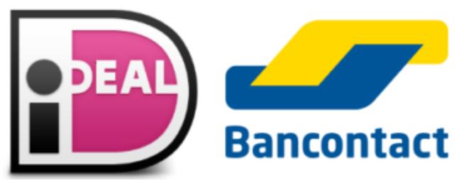 iDeal en Bancontact